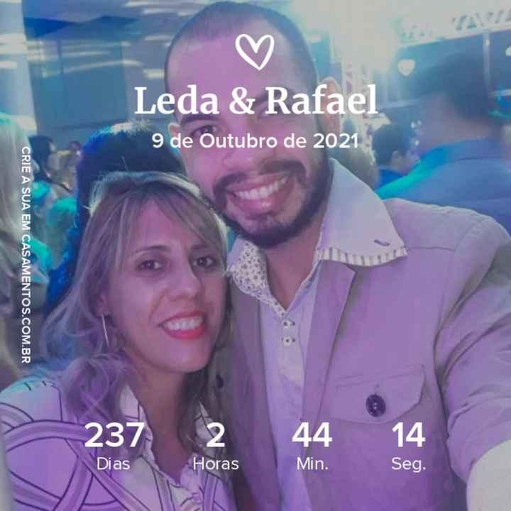 Noivos que se casam  em 9 de Outubro de 2021 em São Paulo - 1