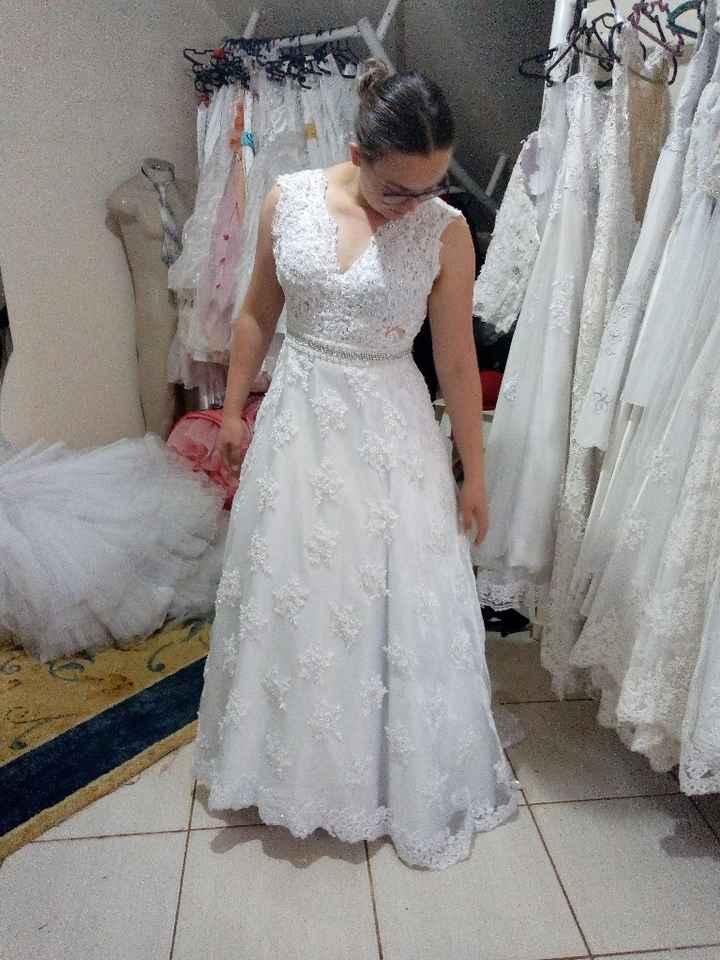 Meu vestido 😍❤️ - 1