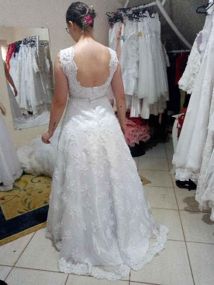 Meu vestido 😍❤️ - 2