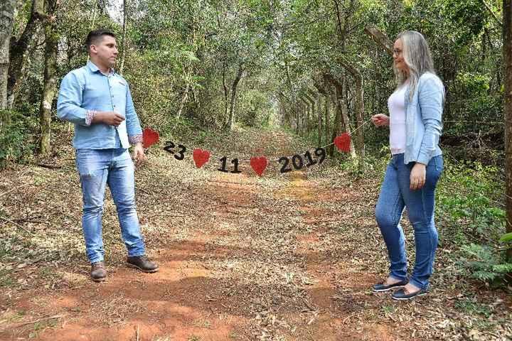 Nosso pré wedding 😍♥️ - 2