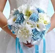 Buquês de noiva azuis! #novembroazul - 2