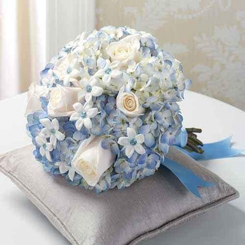 Buquês de noiva azuis! #novembroazul - 6