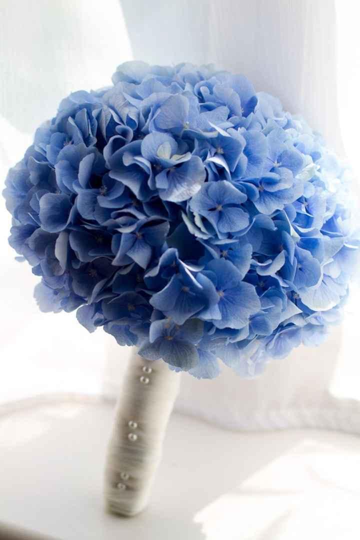 Buquês de noiva azuis! #novembroazul - 7
