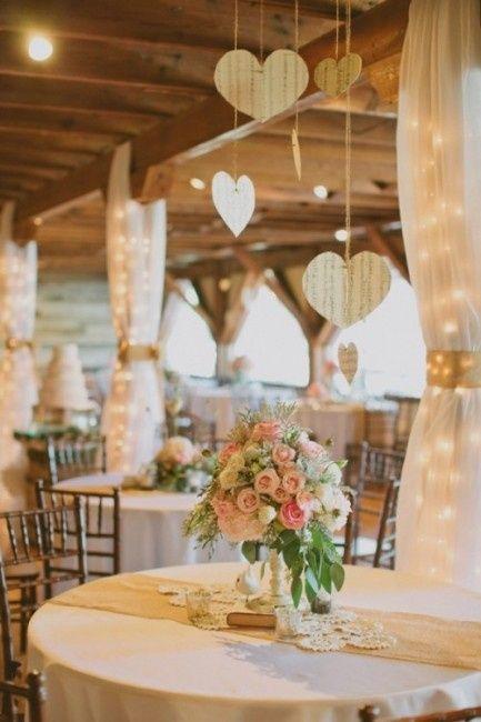 decoracao casamento juta : decoracao casamento juta:Decoração de mesa redonda com Juta – Fotos casamentos.com.br