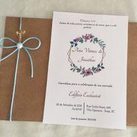 Convite noivado diy - 2