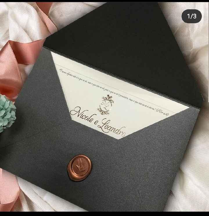 Convites 💌 - 1
