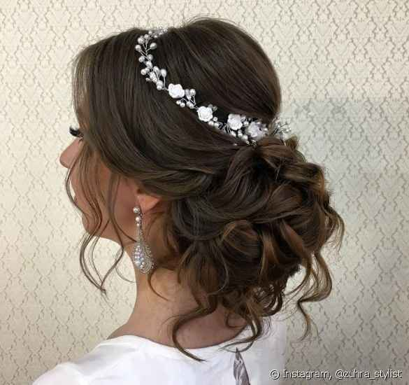 Cabelo da noiva 👰🏻 - 1