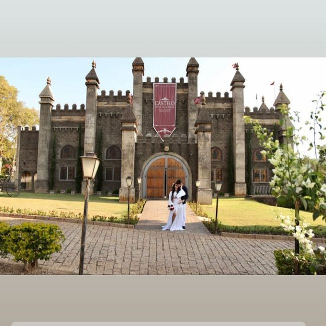 Meu pré-wedding no Castelo dos Vinhais 😍 1