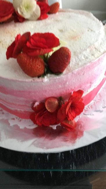 Noivado dos sonhos: o bolo - 1