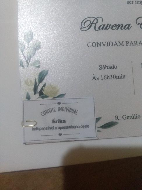 """""""Mini"""" Convite individual - 1"""