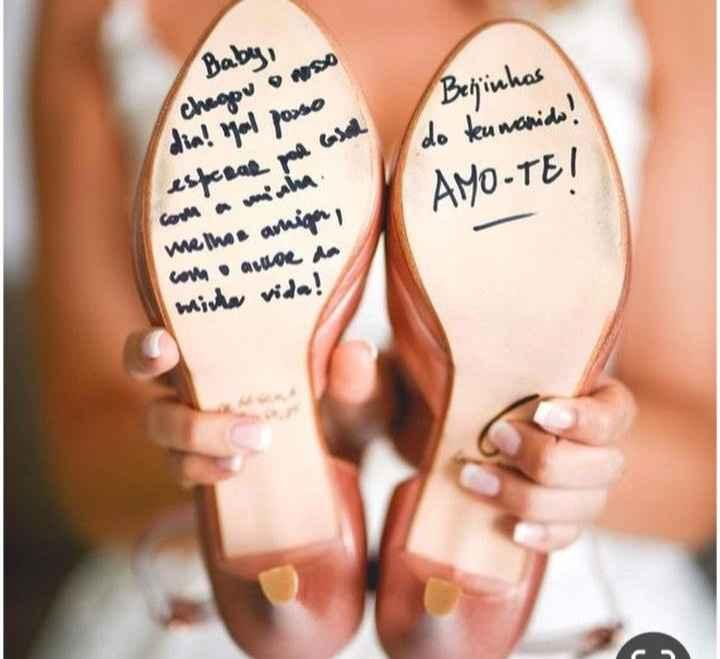 Sapato da noiva [vem ver] - 2