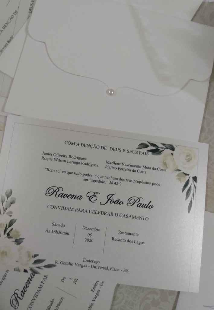 Convite de Casamento [vem ver] - 1