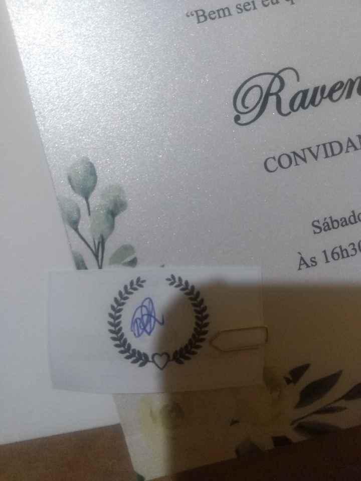 """""""Mini"""" Convite individual - 2"""