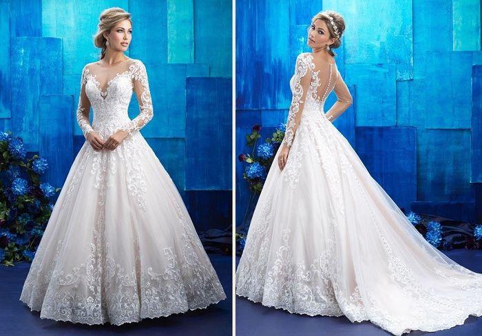 e5e59eaf0b Modelo 2 Tendência Vestido Princesa 2018 ♥ 2