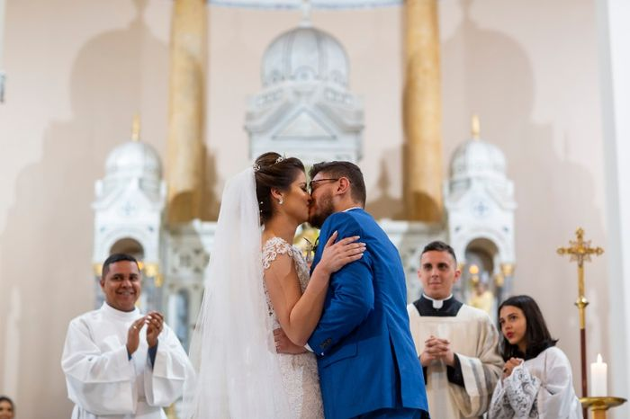 Casamentos reais 2019: o beijo no altar 7