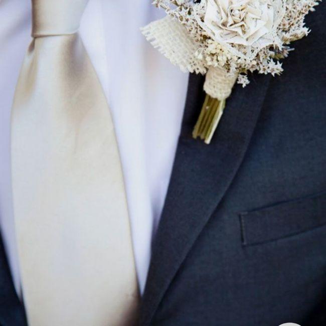 Gravata do noivo - 1