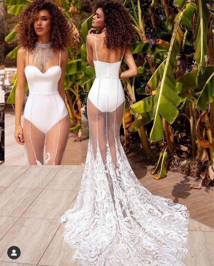 Casamento ou pré-wedding na praia: você usaria esse vestido? - 1