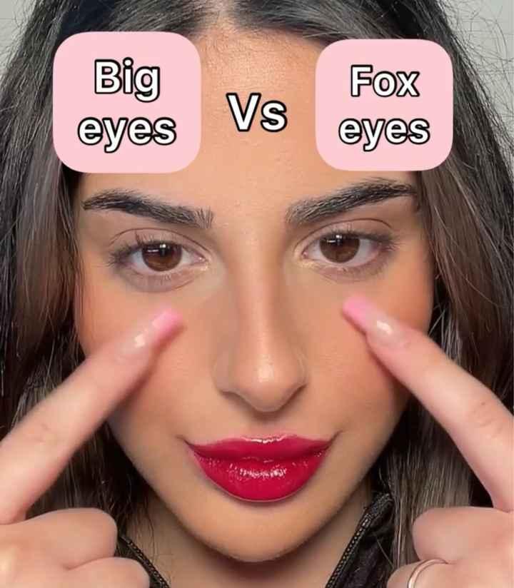 Formato dos olhos na make - 1