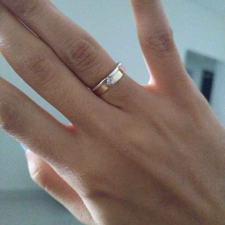 Meu anel de noivado ✨ - 1