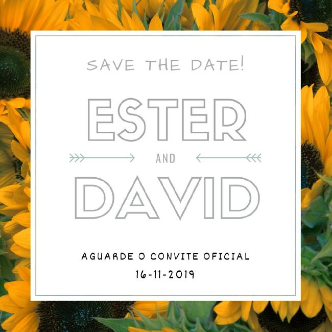 dicas para convite save the date 1