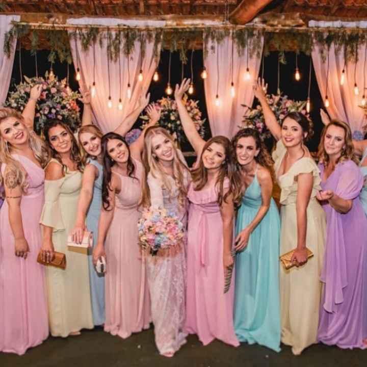 cor vestido madrinhas - 1