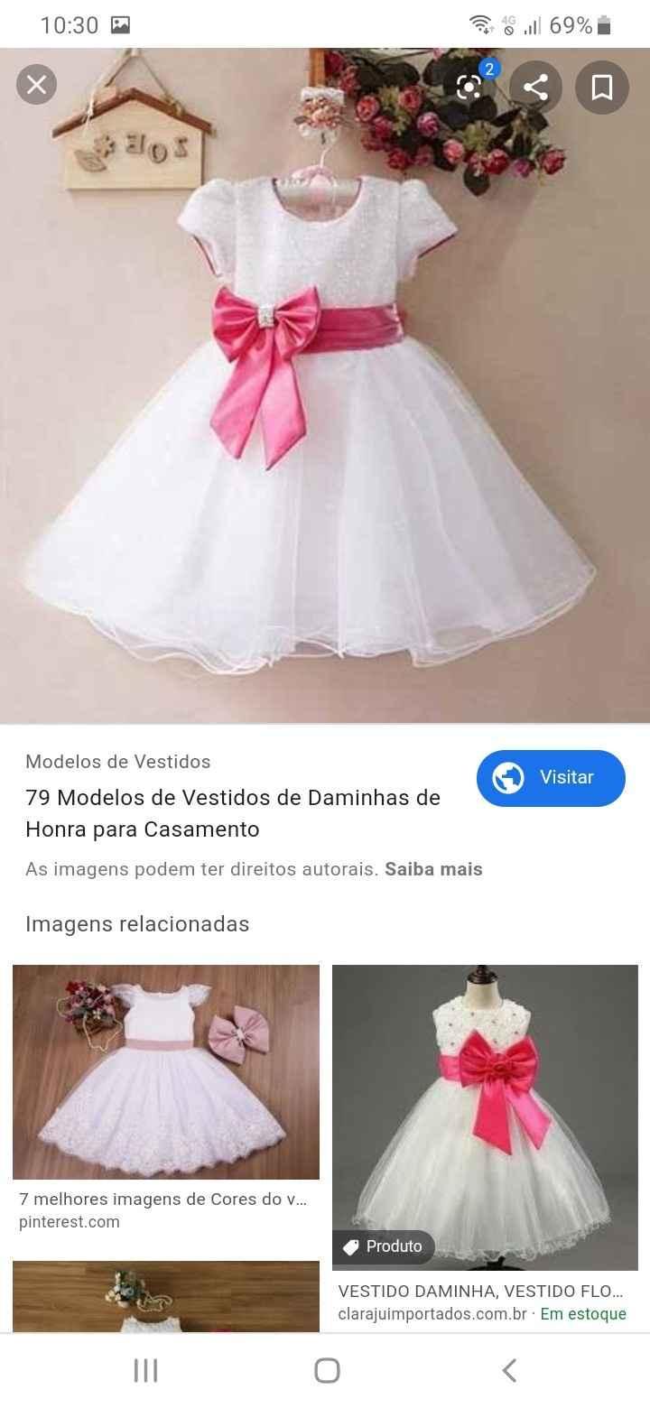 Cor vestido damas - 1
