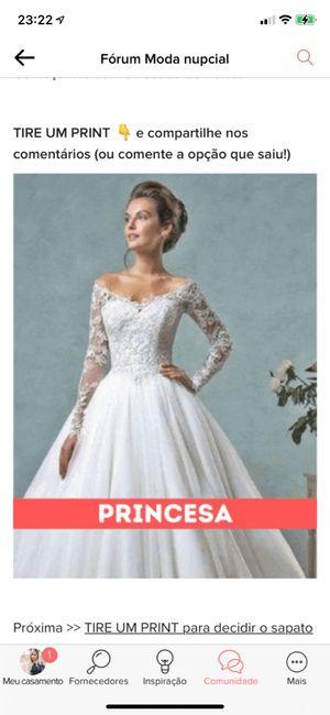 TIRE UM PRINT para decidir o vestido 14