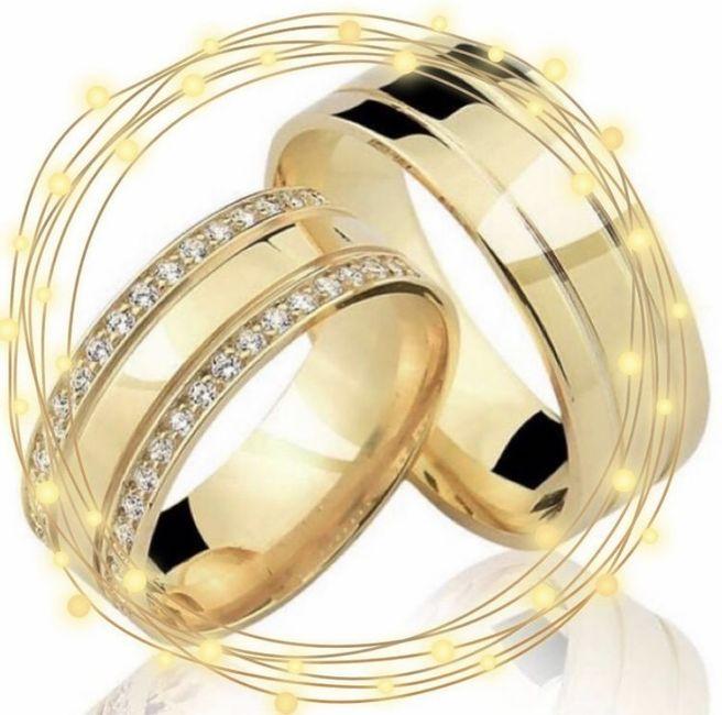 Nossas alianças de casamento #vemver 2