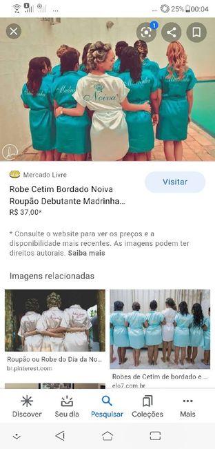 Missão madrinhas de casamento - o robe para o making of! 3