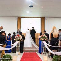 Na hora da cerimônia