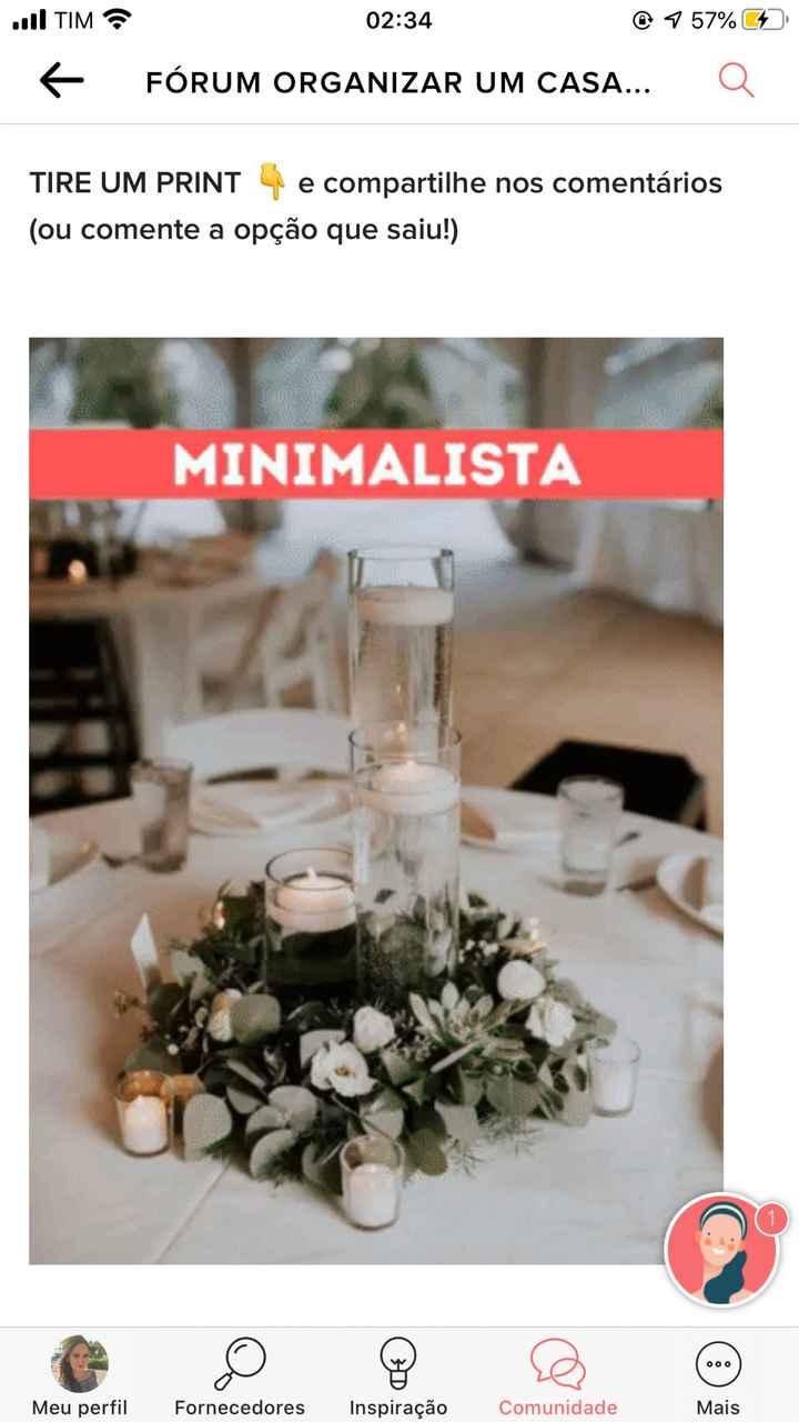 TIRE UM PRINT para decidir o estilo do casamento - 1