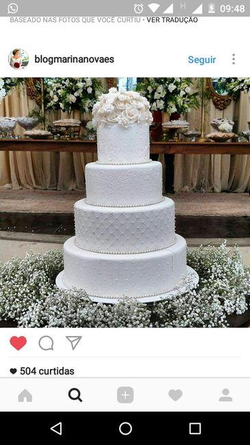 Dúvida com o bolo de casamento - 1