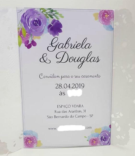 Nome dos pais no convite 1