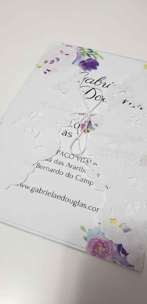 meu convite de casamento diy #vemver #noivaeconomica #economia - 2