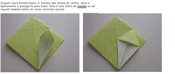 Origami Caixa De Doce