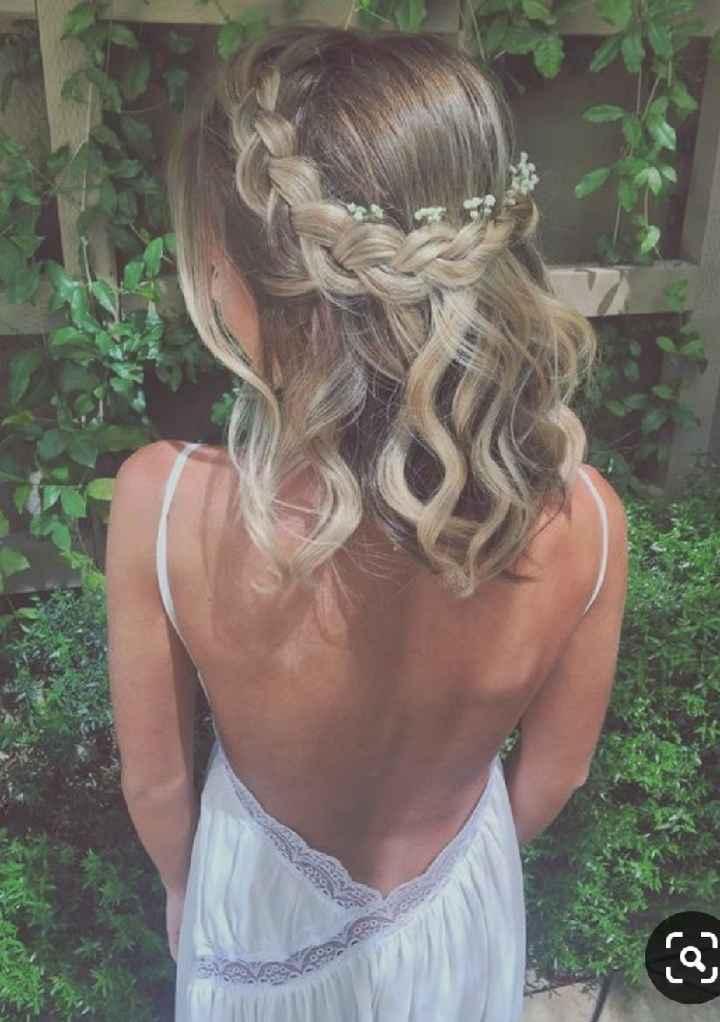 Penteado para cabelos curtos (inspirações) - 3