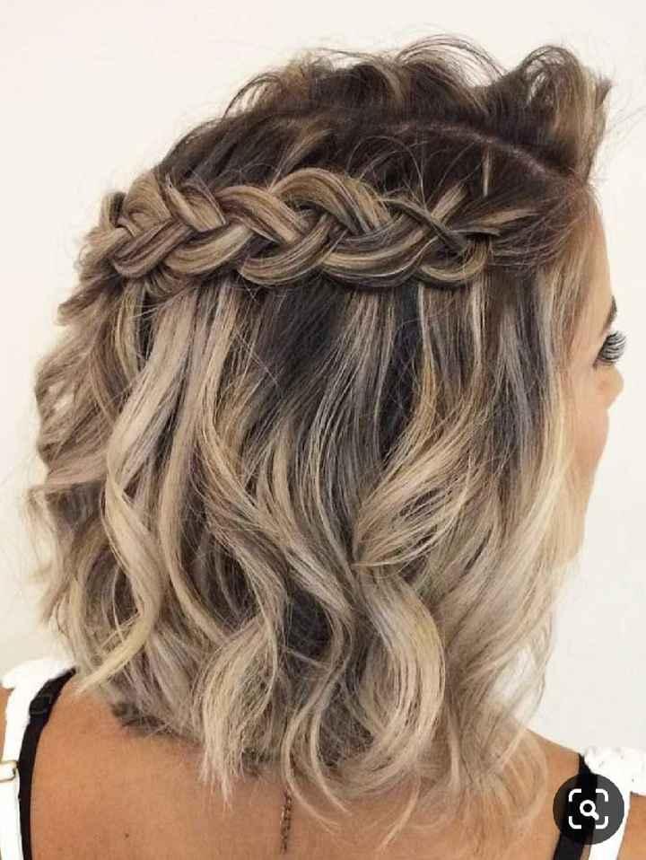 Penteado para cabelos curtos (inspirações) - 4