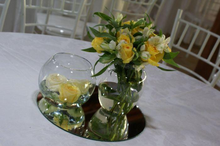 decoracao branca e verde casamento:Decoração verde, amarela e branca