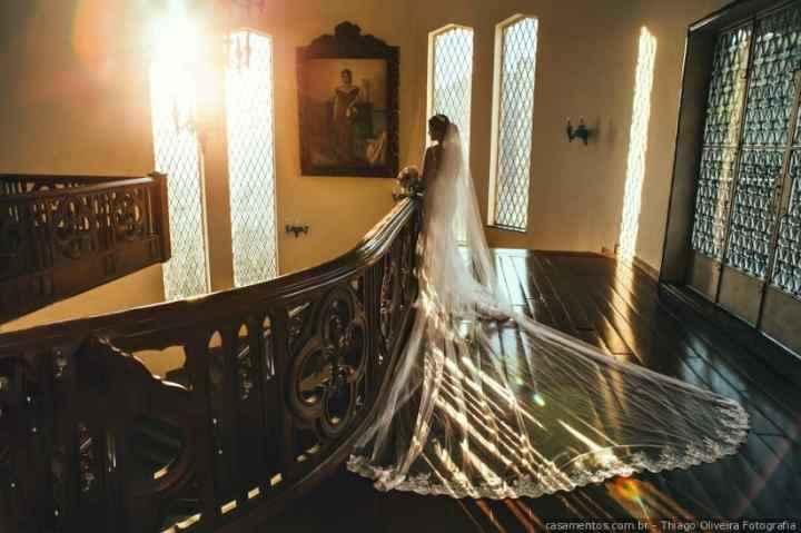 Véu de noiva: escolha o seu - 1