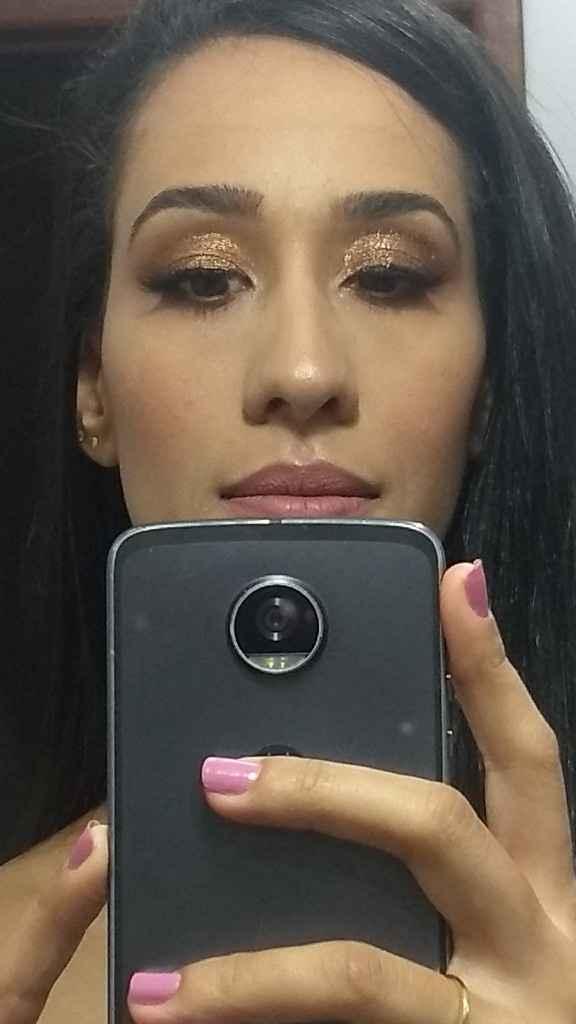 Teste de maquiagem - 2