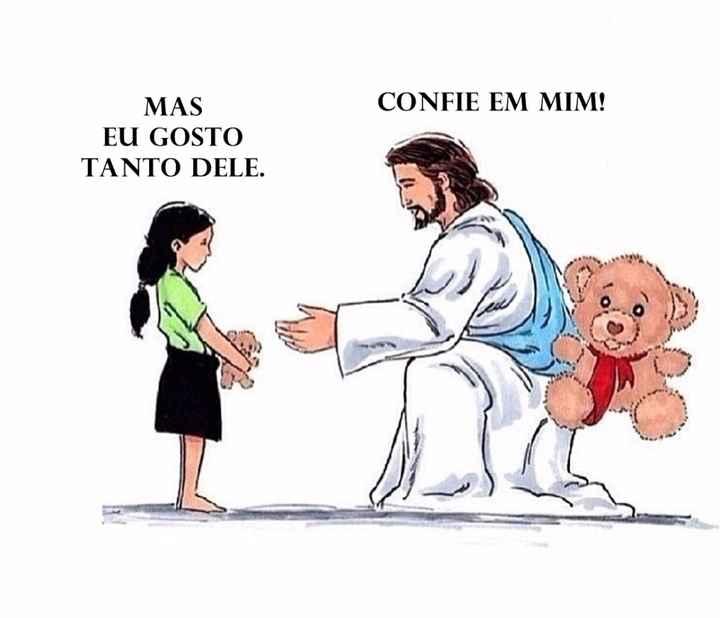 """Jesus: """"Confie em mim, filho! Tenho grandes planos para você. Eu estou contigo!"""""""