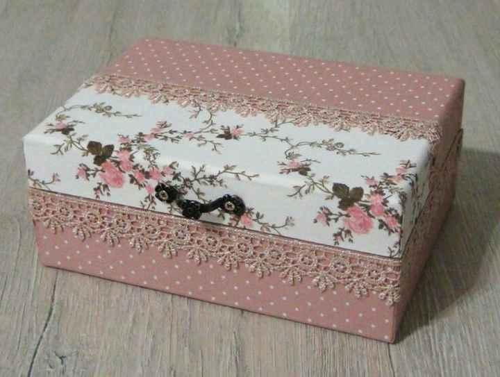 Caixa padrinhos - usando caixinha de leite - 1