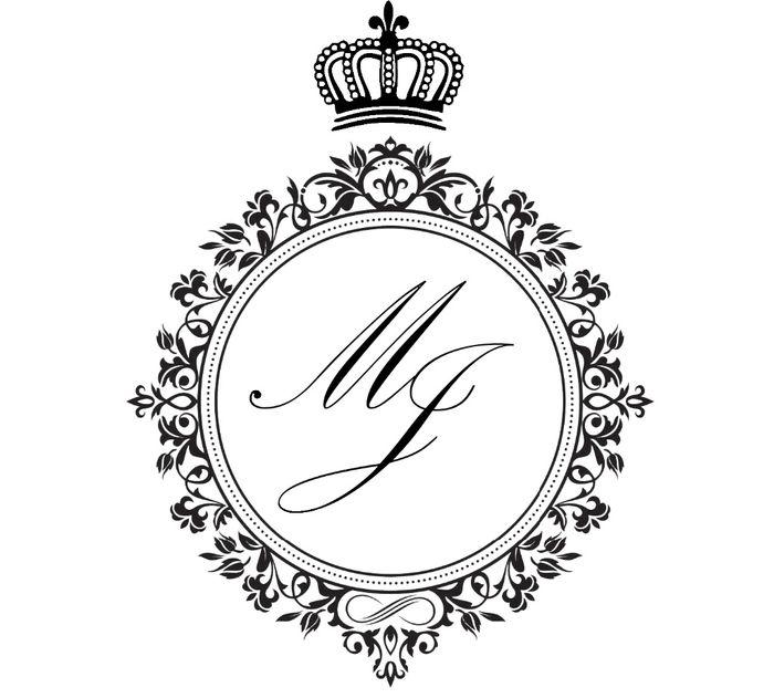 Muito Meu monograma - download editável! AZ19