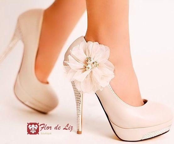 Sapato para a noiva
