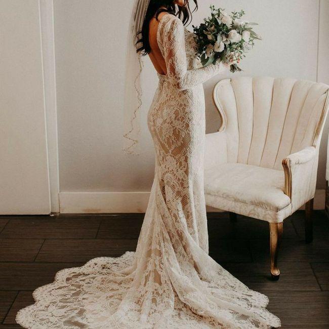 Escolhendo o vestido de noiva 👰 1