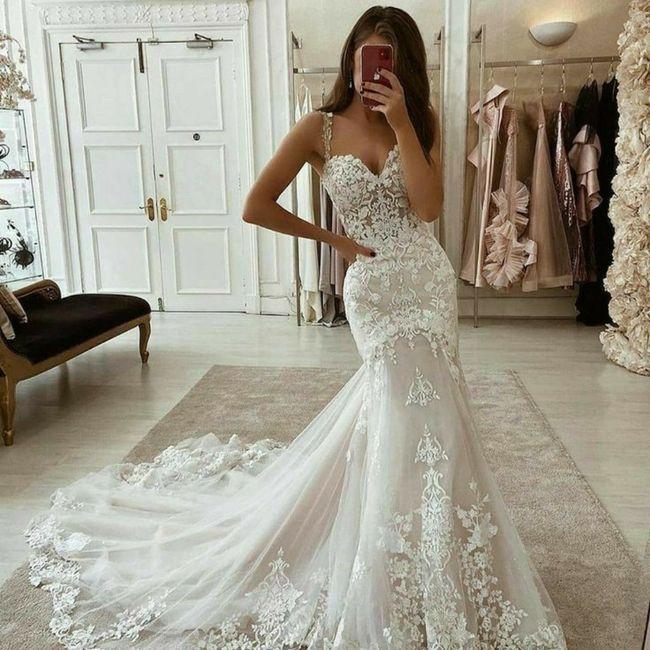 Escolhendo o vestido de noiva 👰 3
