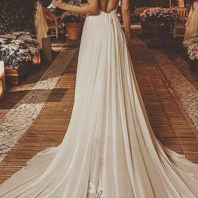 Escolhendo o vestido de noiva 👰 6