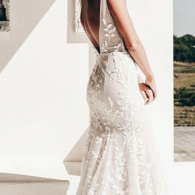 Escolhendo o vestido de noiva 👰 4