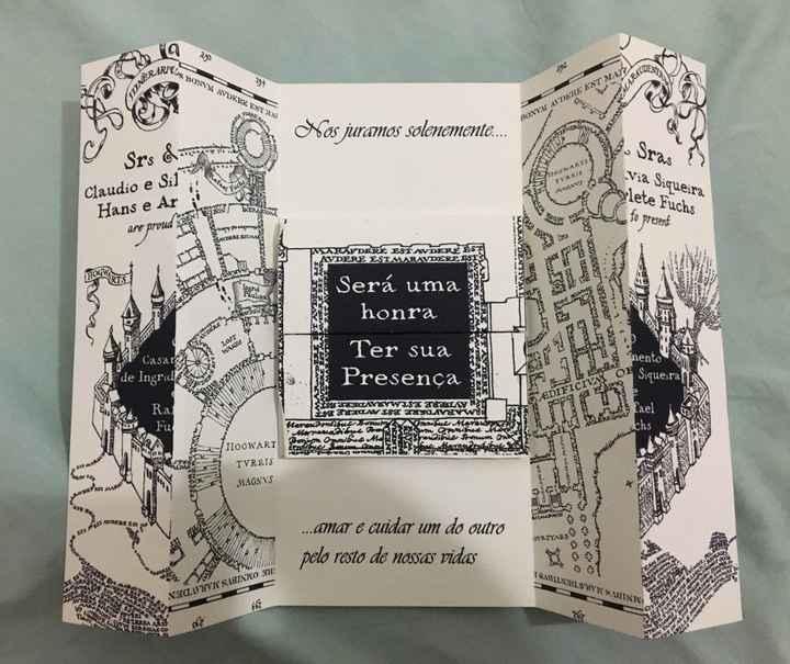 Meu convite de casamento ❤️ - 1