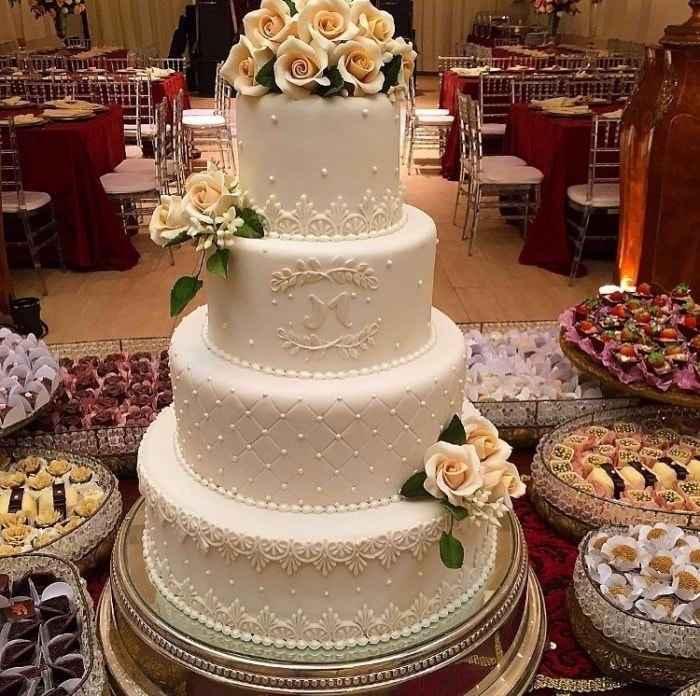 Inspiração de bolo falso
